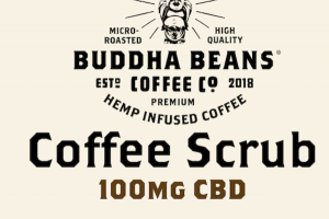 100MG CBD SCRUB PREMIUM HEMP INFUSED COFFEE