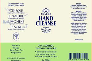HAND CLEANSE 70% ALCOHOL TERPENES+ HAND MIST