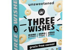 UNSWEETENED GRAIN FREE CEREAL