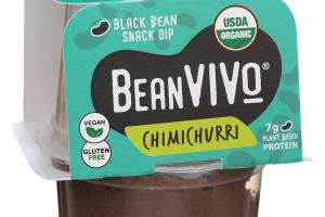 CHIMICHURRI BLACK BEAN SNACK DIP