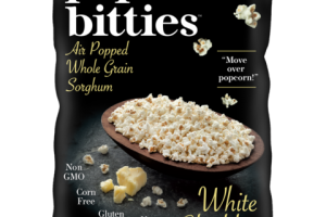 WHITE CHEDDAR AIR POPPED WHOLE GRAIN SORGHUM