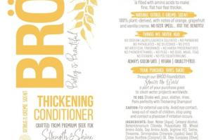 STRENGTH & SHINE THICKENING CONDITIONER CITRUS & CREME