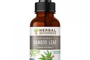 ORIGINAL BAMBOO LEAF LIQUID EXTRACT HAIR, NAIL AND SKIN SUPPORT DIETARY SUPPLEMENT