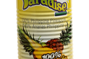 100% PINEAPPLE JUICE