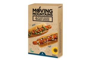 4 PLANT-BASED HOT DOGS