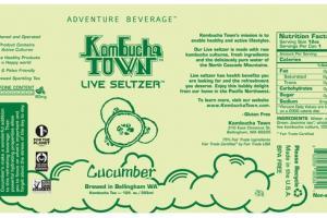 CUCUMBER KOMBUCHA TEA