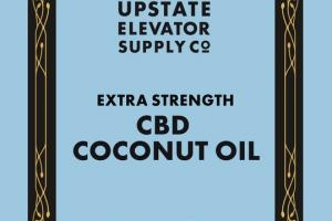 EXTRA STRENGTH CBD 3000 MG PER JAR DIETARY SUPPLEMENT COCONUT OIL