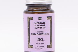 THC FREE CBD 30 MG DIETARY SUPPLEMENT CAPSULES