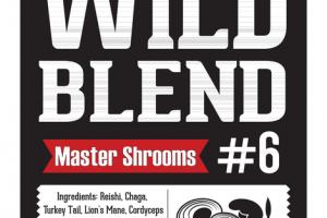 WILD BLEND MASTER SHROOMS #6 DIETARY SUPPLEMENT