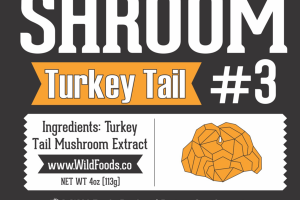 TURKEY TAIL #3 DIETARY SUPPLEMENT