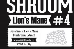 LION'S MANE #4 DIETARY SUPPLEMENT