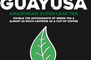 WILD GUAYUSA AMAZONIAN SUPER-LEAF TEA