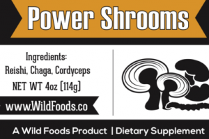 POWER SHROOMS DIETARY SUPPLEMENT