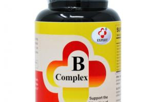 B COMPLEX BRAIN, NERVE, AND BLOOD DIETARY SUPPLEMENT TABLETS