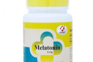 MELATONIN 5 MG DIETARY SUPPLEMENT TABLETS