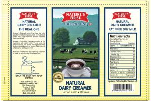 NATURAL DAIRY CREAMER