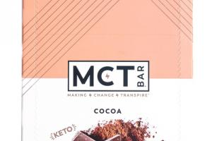 KETO COCOA COLLAGEN PROTEIN BARS