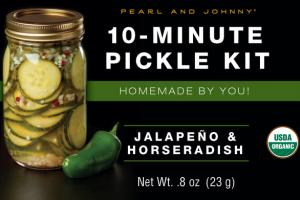 JALAPENO & HORSERADISH 10-MINUTE PICKLE KIT