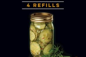 DILL-ICIOUS 10-MINUTE PICKLE KIT REFILLS