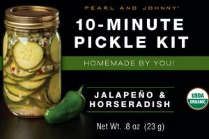 JALAPENO & HORSERADISH 10-MINUTE PICKLE KIT