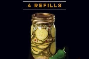 JALAPENO & HORSERADISH 10 - MINUTE PICKLE KIT REFILLS