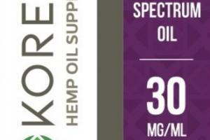 FULL SPECTRUM HEMP OIL DROPS SUPPLEMENT GRAPE
