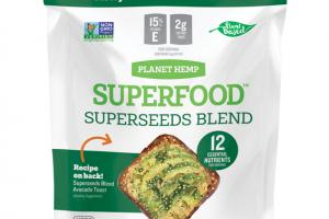 SAVORY ONION SUPERSEEDS BLEND WHOLE FOOD NUTRITION