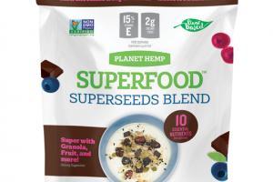 DARK CHOCOLATE & SUPERBERRIES SUPERSEEDS BLEND