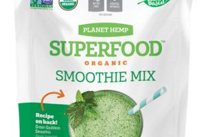 SUPER GREENS ORGANIC SMOOTHIE MIX