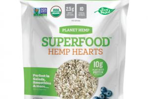 HEMP HEARTS ORGANIC WHOLE FOOD NUTRITION