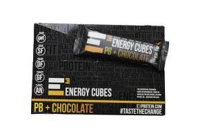 PB + CHOCOLATE CUBES