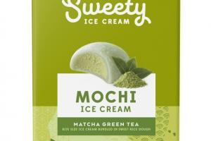 MATCHA GREEN TEA BITE SIZE MOCHI ICE CREAM BUNDLED IN SWEET RICE DOUGH