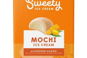 ALPHONSO MANGO BITE SIZE MOCHI ICE CREAM BUNDLED IN SWEET RICE DOUGH