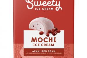 AZUKI RED BEAN BITE SIZE MOCHI ICE CREAM BUNDLED IN SWEET RICE DOUGH