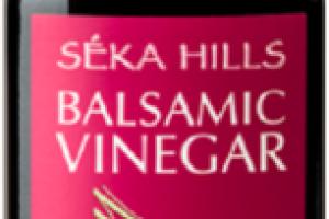 ELDERBERRY BALSAMIC VINEGAR