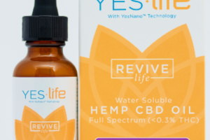 MAXIMUM STRENGTH REVIVE LIFE WATER-SOLUBLE FULL SPECTRUM (<0.3% THC) HEMP CBD 1000 MG OIL, MIXED BERRY