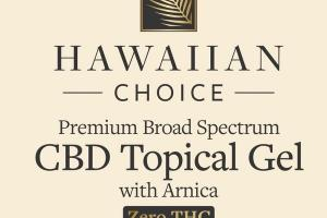PREMIUM BROAD SPECTRUM CBD TOPICAL GEL WITH ARNICA