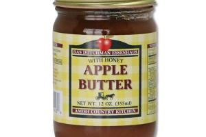 APPLE BUTTER WITH HONEY