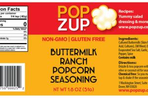 BUTTERMILK RANCH POPCORN SEASONING