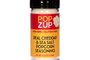 REAL CHEDDAR & SEA SALT POPCORN SEASONING