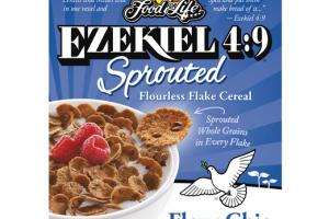 FLAX + CHIA EZEKIEL 4:9 SPROUTED FLOURLESS FLAKE CEREAL