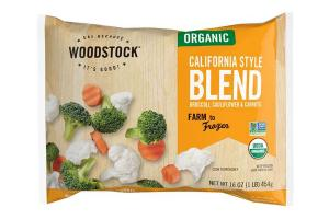 CALIFORNIA STYLE BROCCOLI, CAULIFLOWER & CARROTS ORGANIC BLEND