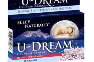 FULL NIGHT (7/8 HOURS) SLEEP NATURALLY HERBAL SUPPLEMENT CAPSULES