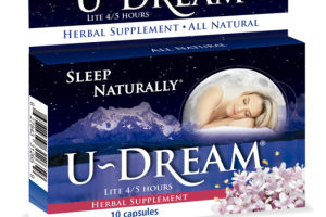 SLEEP NATURALLY HERBAL SUPPLEMENT CAPSULES