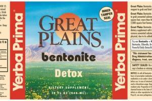 BENTONITE DETOX DIETARY SUPPLEMENT