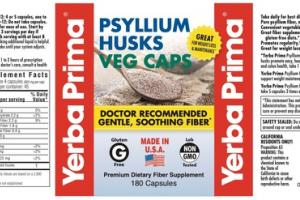 PSYLLIUM HUSKS FOR WEIGHT LOSS & MAINTENANCE PREMIUM DIETARY FIBER SUPPLEMENT VEG CAPSULES