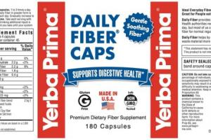DAILY FIBER SUPPORTS DIGESTIVE HEALTH PREMIUM DIETARY FIBER SUPPLEMENT CAPSULES