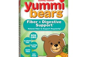 THE ORIGINAL GUMMY VITAMIN FIBER + DIGESTIVE SUPPORT DIETARY SUPPLEMENT YUMMI BEARS