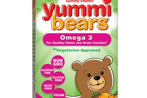 THE ORIGINAL GUMMY VITAMIN OMEGA 3 DIETARY SUPPLEMENT YUMMI BEARS