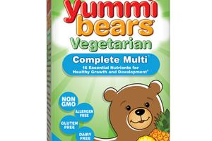 VEGETARIAN COMPLETE MULTI DIETARY SUPPLEMENT YUMMI BEARS